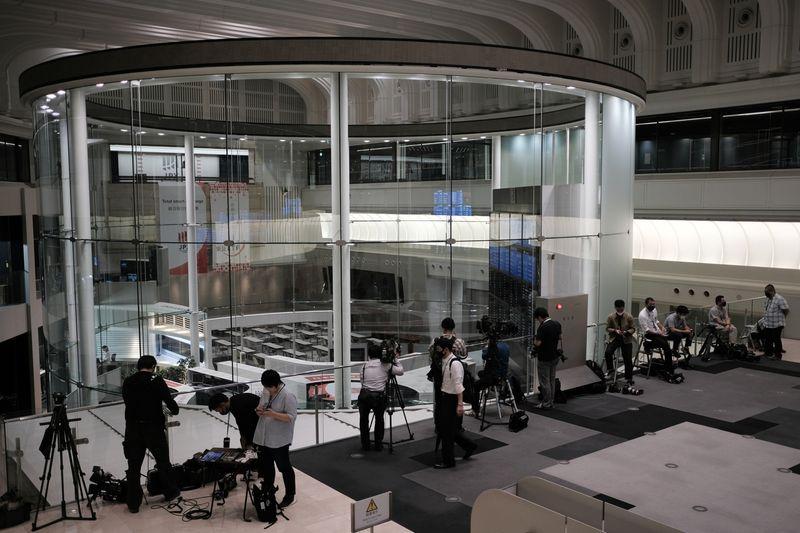 tokyo stock exchange down 9-30-20